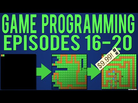 Java Game Programming Episodes 16-20: Waves & Movement