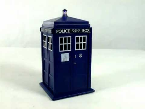 Doctor who tardis cookie jar with light and sound youtube - Tardis cookie jar ...