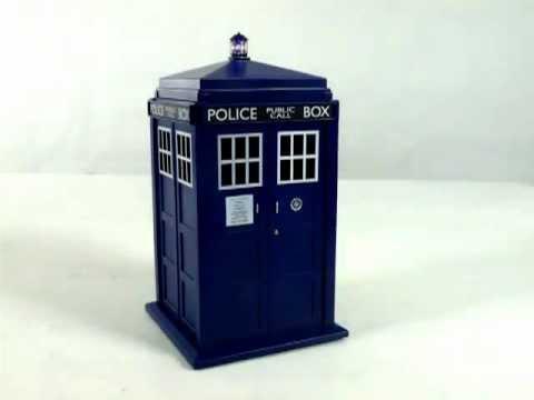 Doctor who tardis cookie jar with light and sound youtube - Tardis cookie jar ...