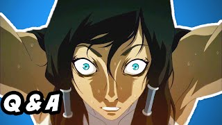 Legend Of Korra Season 3 Finale Q&A - Avatar Spirit Healing
