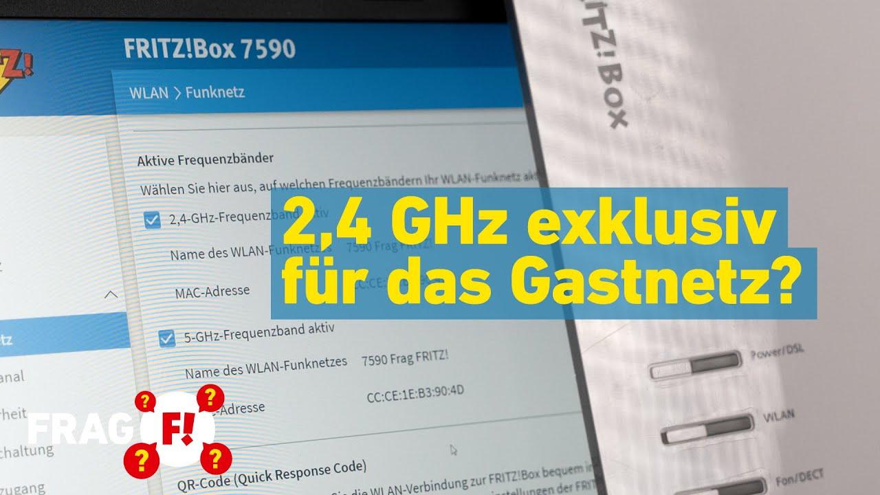 2,4 GHz exklusiv für das Gastnetz? | Frag FRITZ! 55