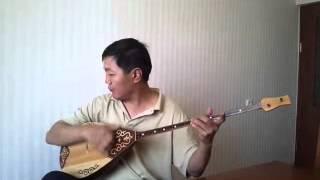 Красивая казахская песня на Домбре
