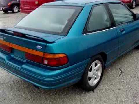 sold 1993 ford escort gt 43140 buckeye ford youtube. Black Bedroom Furniture Sets. Home Design Ideas