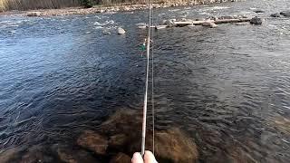 #ГоПро7#Рыбалка#Спининг#ДжигМастер Рыбалка на реке, съёмка на две камеры.