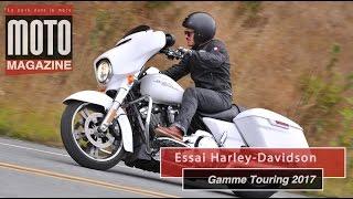 Harley-Davidson gamme Touring 2017 : le nouveau moteur à l'essai