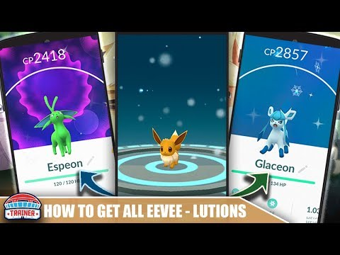 HOW TO GET ALL FORMS OF EEVEE EVOLUTIONS - EEVEE EVOLUTION TRICKS INCLUDING SYLVEON | POKÉMON GO
