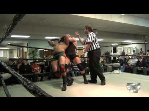 Justice Jones Vs Alpha Samoa (Lorenzo Hood) - SSW - 3/17/13 - Headlock on Hunger 8