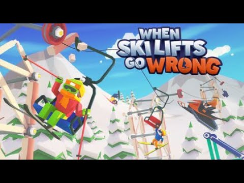 When Ski Lifts Go Wrong - Games I've Never Played Before Series |