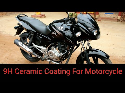How To Apply A 9H  Ceramic Coating To Your Motorcycle