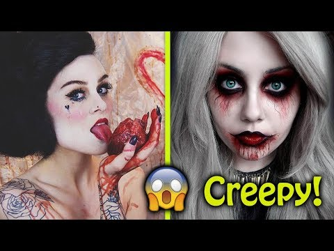 Creepiest Halloween Makeup Ideas Ever!