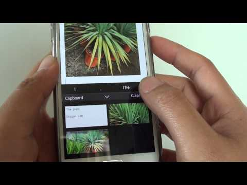Samsung Galaxy S5: how to Clear All Clipboard Copied Data