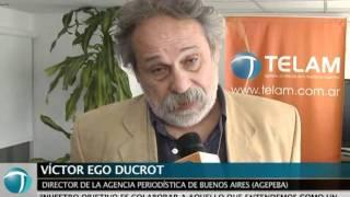 Télam firmó un convenio con la agencia de noticias de la provincia de Buenos Aires