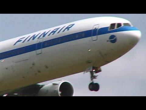 [Old-Film] [1995 Narita] 長編!成田1995 - Landing & Taxiing