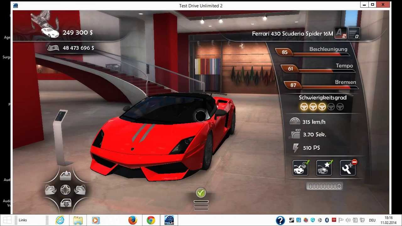 Tdu2 Lamborghini Ferrari Dealer Mod Youtube