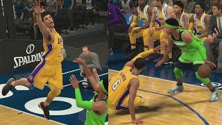 NBA 2K18 My Career - Lonzo Ball Looking Silly! PS4 Pro 4K Gameplay