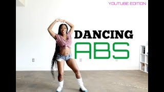 Dancing ABS FULL Workout -Keaira LaShae