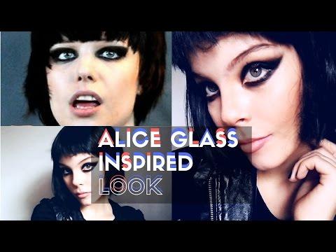 ALICE GLASS MAKEUP TUTORIAL ♥ MAQUILLAJE INSPIRADO EN ALICE GLASS