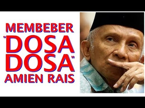 'Dosa' Amien Rais Dibeber Pendiri, PAN Mendadak Gaduh