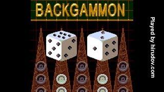Sega Game Gear Longplay - 5 in 1 Funpak - Backgammon