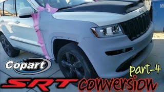 jeep srt8 conversion ,jeep grand cherokee srt clone -copart rebuild jeep srt