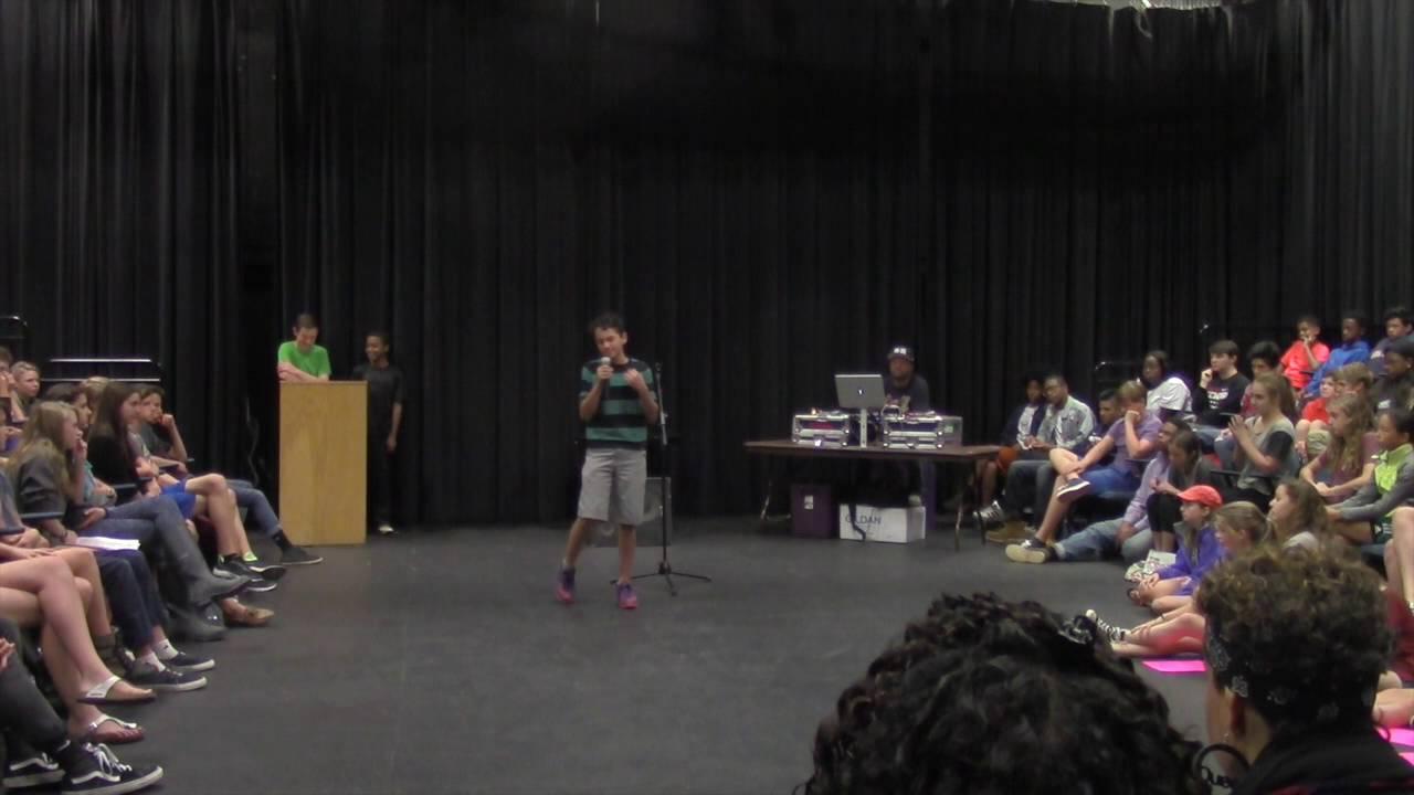 This Super Woke Teen's 'White Boy Privilege' Poetry Slam Is