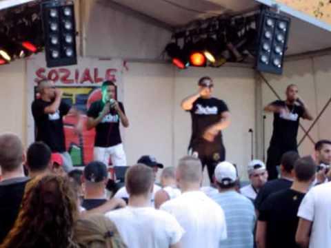 AHMATO FT. AMOC - PARANOIA - JEEHAD PRODUCTIONZ LIVE @ MYFEST 1 MAI 2009