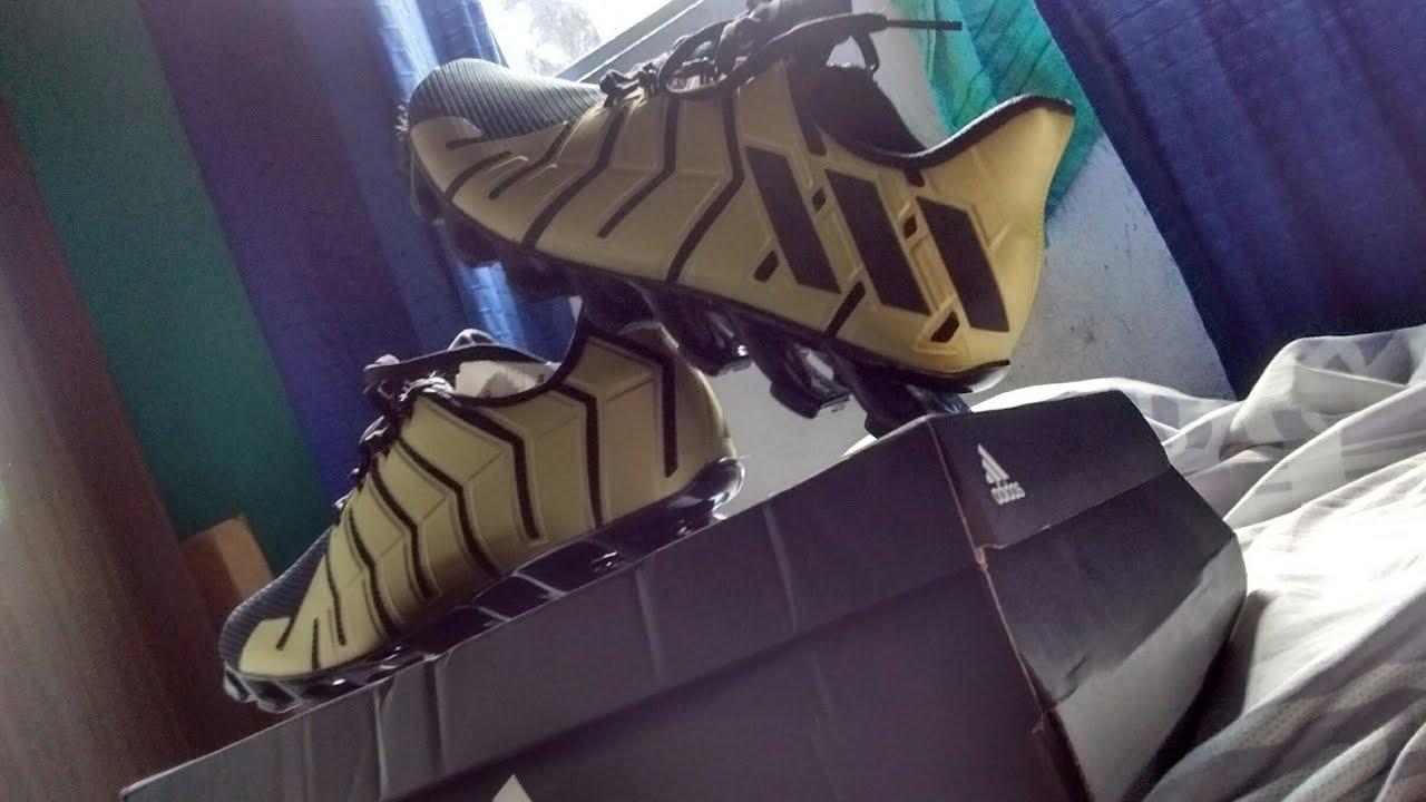 37a183c117 Adidas Springblade pro   Dourado - YouTube