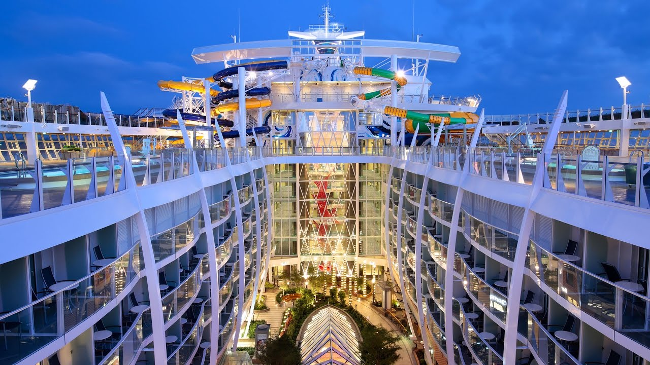 Harmony Of The Seas Royal Caribbean Largest Cruise Ship In World