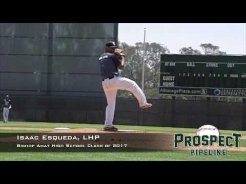 Isaac Esqueda, LHP, Bishop Amat High School, Pitching Mechanics at 200 FPS