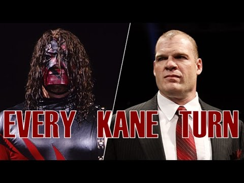 [EP. 2] EVERY KANE's FACE/HEEL TURN (since 1995)