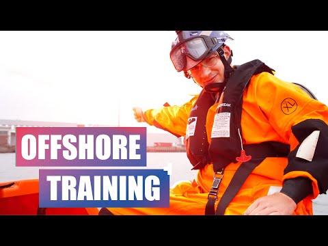 Offshore Überlebenstraining! Überleben auf rauer See! RelyOn Nutec VLOG