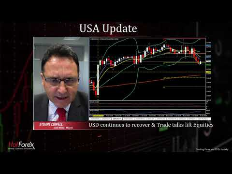 US-China Trade Talks progress lifts equities and USDD | 08.01.2019