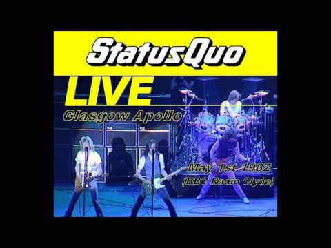 Status Quo Live Glasgow 1982, Broadcast on Radio Clyde