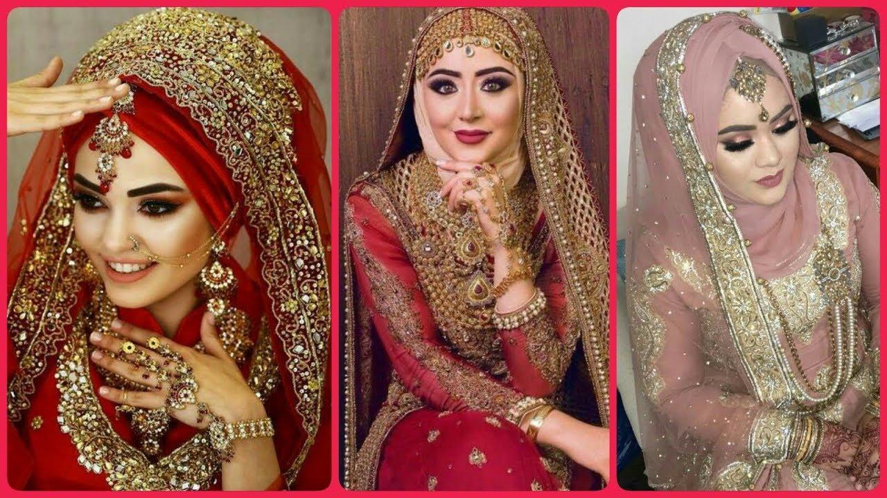 Top 30 Latest Bridal Hijab Styles Dresses Designs Ideas 2020 2021 Youtube