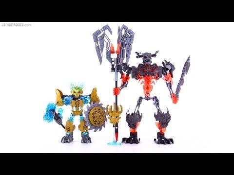 Lego Bionicle Mask Maker Vs Skull Grinder Kulta Build