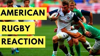 AMERICAN REACTS TO RUGBY FOR THE FIRST TIME (and is confused...)