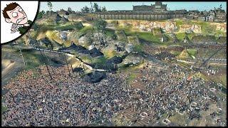 MASSIVE 20000 ICENI v ROME SURVIVAL BATTLE! Ancient Empires Gameplay (Total War Attila Mod)
