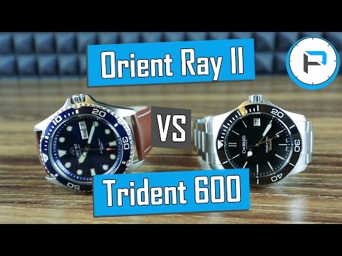 Orient Ray II vs Christopher Ward C60 Trident Pro 600 Review