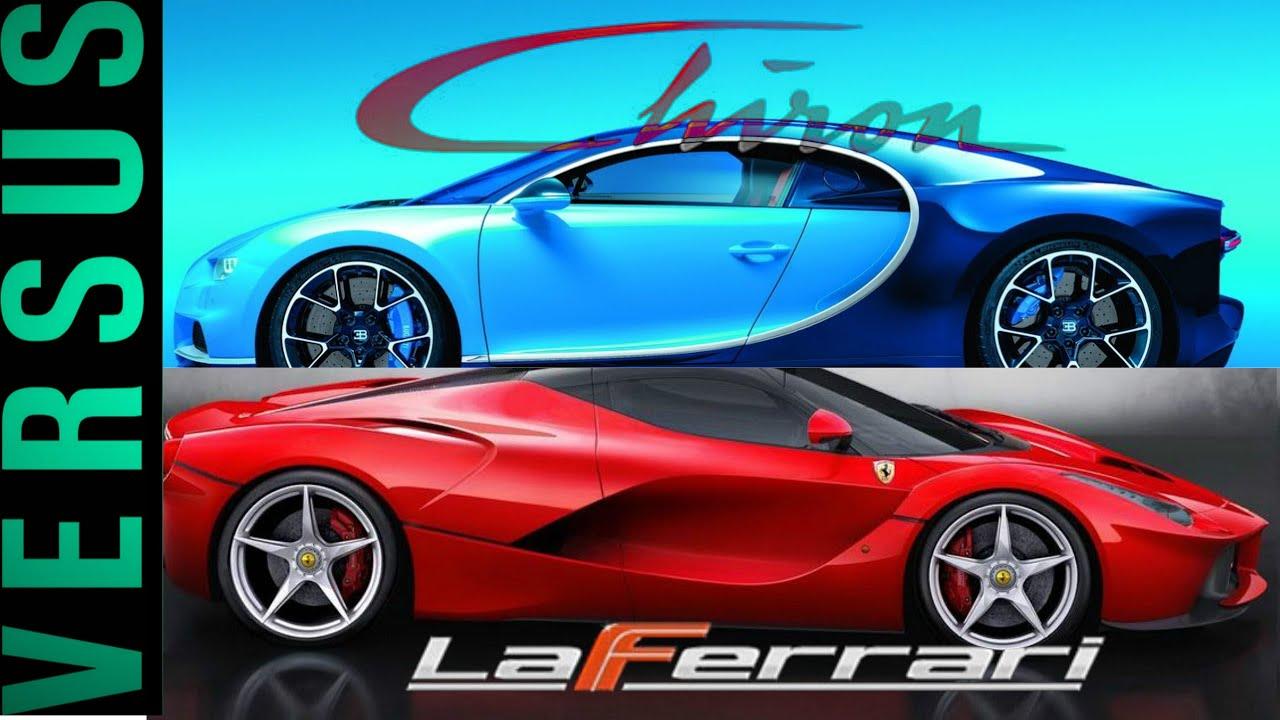 La Ferrari Vs Bugatti – Idea di immagine auto