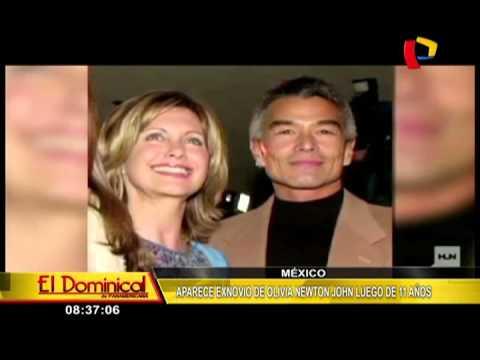 Exnovio de Olivia Newton-John aparece en México después de 11 años