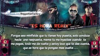 """""""Es Hora"""" (Remix) con letra - Farruko Ft Alexis y Fido ★ Reggaeton 2011★"""