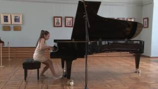 Laura Galstyan (12 years) plays Robert Schumann: Warum? (op.12, nr.3) from Fantasiestücke