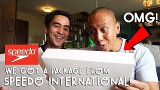 OMG! WE GOT A PACKAGE FROM SPEEDO INTERNATIONAL | Vlog #179