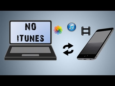 How to transfer Music, Movies, Pictures to iphone WITHOUT using iTunes