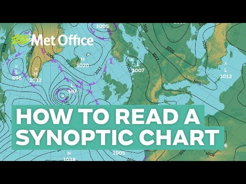 How To Read A Synoptic Weather Chart