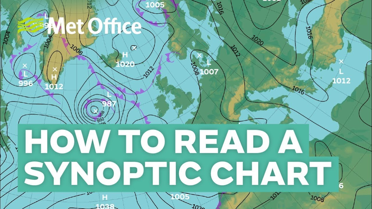How To Read A Synoptic Weather Chart Youtube