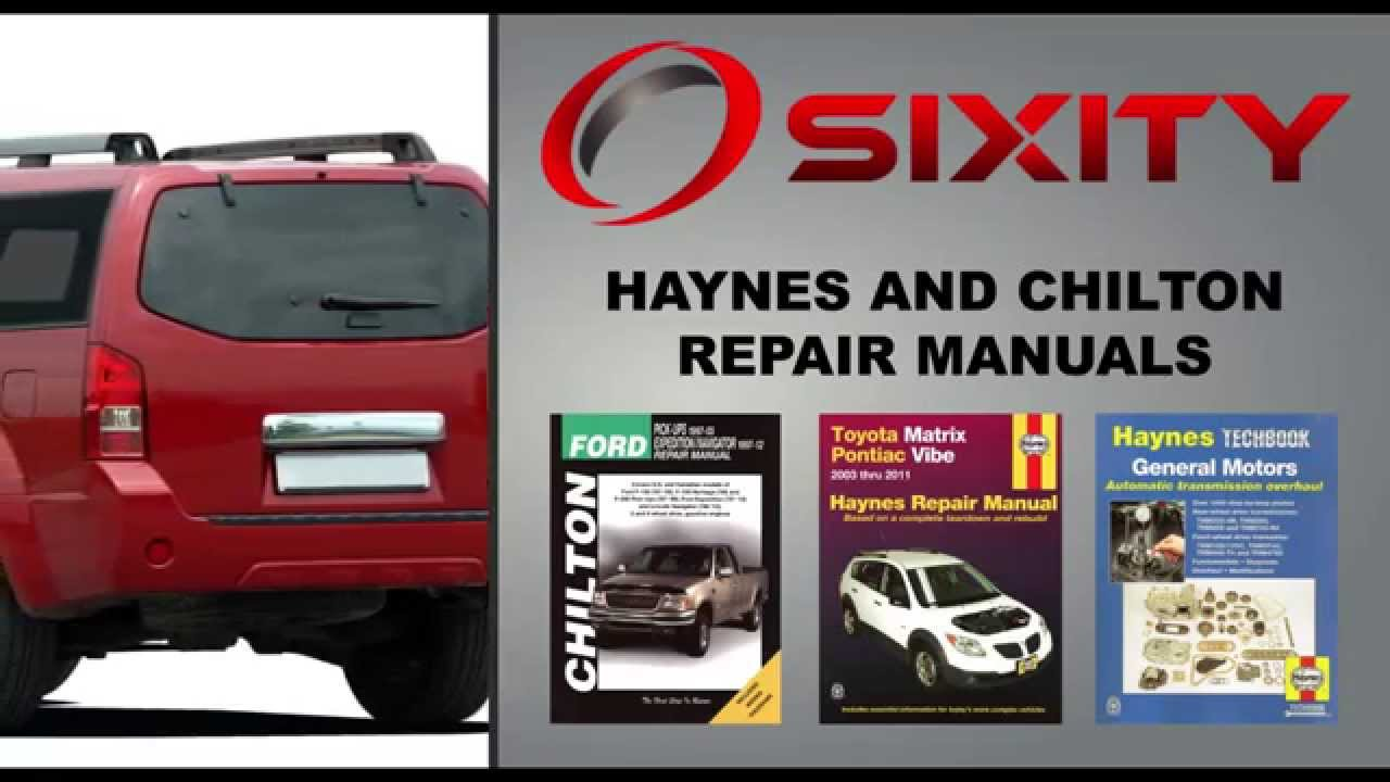 Haynes chilton auto repair manuals sixityauto youtube solutioingenieria Choice Image