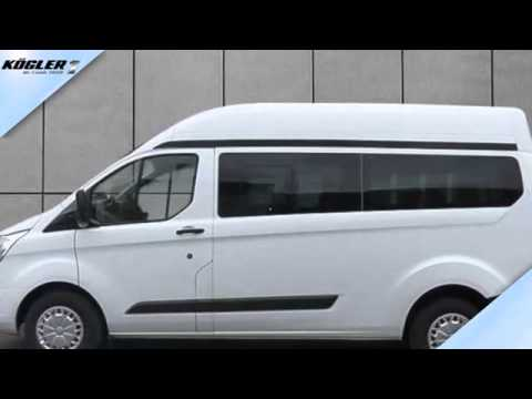 ford transit custom transit custom kombi l2h2 trend 33 youtube. Black Bedroom Furniture Sets. Home Design Ideas