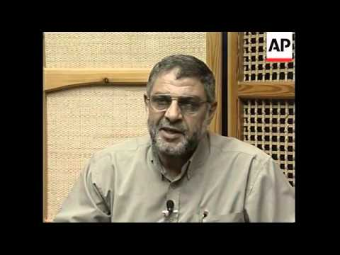 Senior Hamas leader makes unexpected public appearance