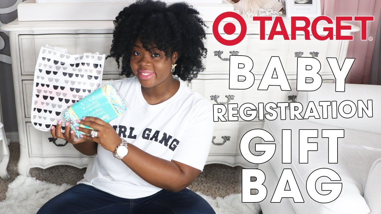 Target Baby Registry FREE Gift Unboxing - YouTube